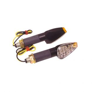 Drop LED Indicators - Short Black Stem