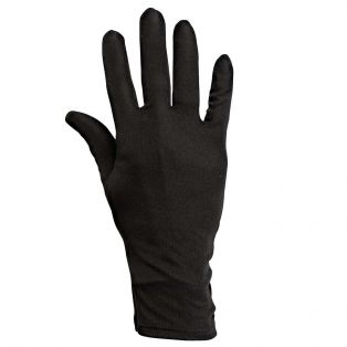 Arsenico Silk Undergloves Black
