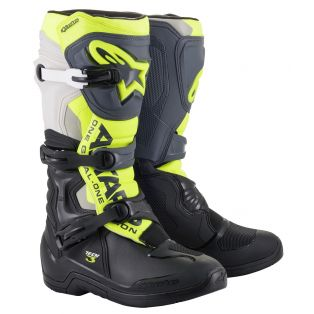 Tech 3 Boots Black/Cool Gray/Fluo Yellow