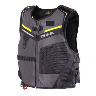 Full Link DPS Waistcoat Anthracite/Yellow