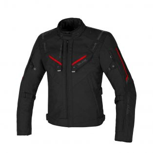 Overtrack motorcycle jacket Black/Black/Red