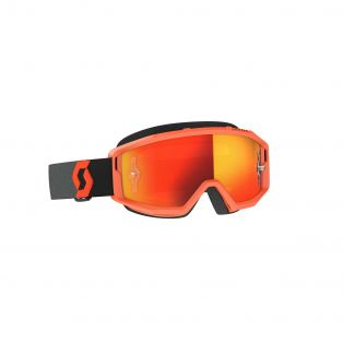 Primal Chrome Motocross Goggles Orange/Black