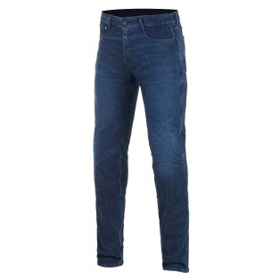 Copper V2 Plus motorcycle jeans Aged Worn Blue