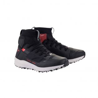 Speedforce Motorcycle shoes Black/White/Red