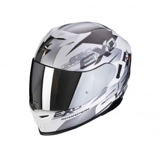 Exo-520 Air Full Face helmet Cover White/Silver