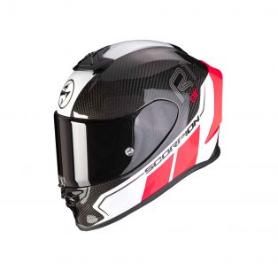 EXO-R1 Carbon Air full Face Helmet Corpus II Black/Neon Red