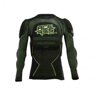 X- FIT FUTURE KID level 2 BODY ARMOUR Black/Fluo Yellow