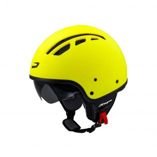 Demi-jet helmet Hp1.11 Air with sun visor Matt Fluo Yellow