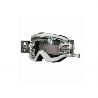 3201 Offroad goggles with Roll Off System White with Roll-Off