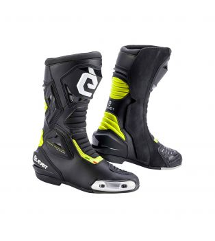 Sp-01 CE Boots Black/Yellow Fluo