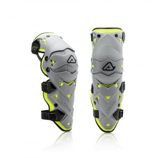 Impact EVO 3.0 Knee Guards Black/Yellow fluo