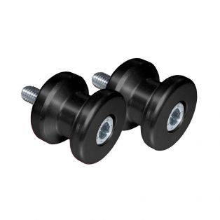 M6 Swing Arm Spools Black