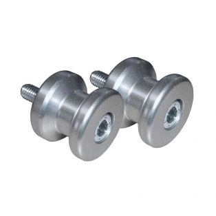 M8 Swing Arm Spools Silver