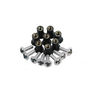 Screen Screw Kit Silver