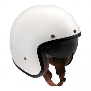 HP4.32 Deluxe Helmet Shiny White