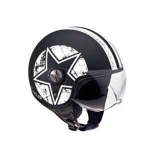 HP2.22 Helmet Star White Black