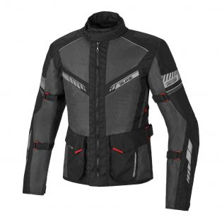 Summer Motorcycle jacket Discover Air Aqvadry Black/Anthracite/Black