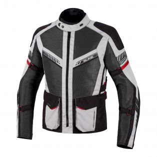 Summer Motorcycle jacket Discover Air Aqvadry Ice/Anthracite/Black