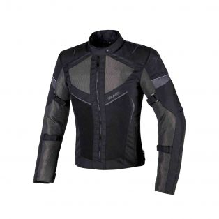 Airtour Aqvadry Motorbike summer jacket for Ladies Black/Anthracite/Black