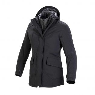 Montenapoleone Jacket, Aqvadry Cee for lady Matt Black