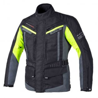 Giacca Touring Path Waterproof Nero/Giallo Fluo/Antracite