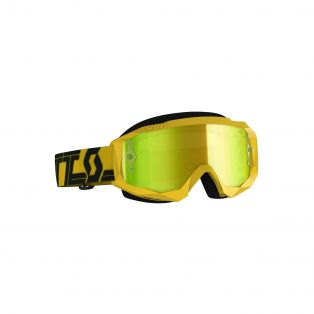 Hustle X Mx Chrome Goggle My19 Yellow/Black