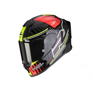 Exo-R1 Air Helmet Victory Black/Silver/Red