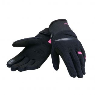 Easy&Safe motorcycle gloves for lady Black