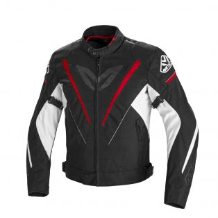 Fuek Tex Motorcycle jacket Black/Red White