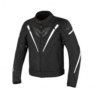 Fuel Aqvadry motorcycle jacket Black/White/Black