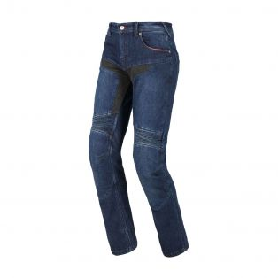 Track motorcycle trousers Night Blue
