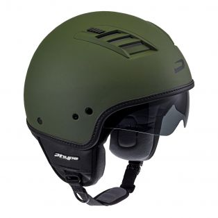 Motorcycle helmet HP2.60 AIR Matt Army Green