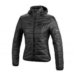 Thermo fire lady quilted jacket Black
