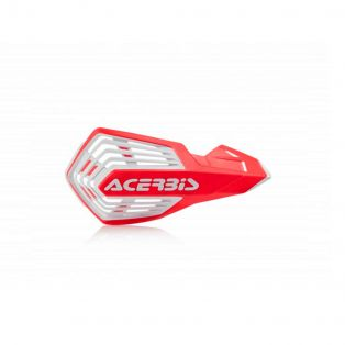 X-FUTURE HANDGUARDS Red/White