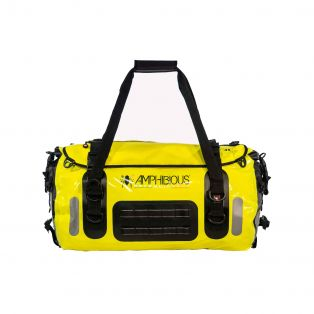 Voyager II 45lt cylindrical motorcycle bag Fluo Yellow