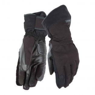 New Seppia motorcycle gloves Black
